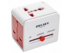 Delsey univernální cestovní adaptér