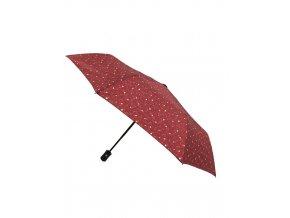 petit parapluie pliant automatique magritte rouge grenat (4)