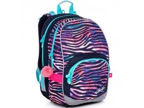 Skolni batoh Topgal zebra KIMI 21010 1