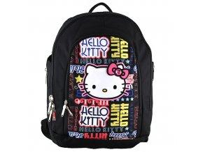 Target batoh Hello Kitty barevné srdíčka