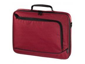 """Hama """"Sportsline Bordeaux"""" taška na notebook, 40 cm (15.6""""), červená"""