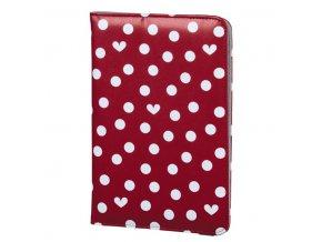 """ELLE Hearts & Dots obal na tablet do 17,8 cm (7""""), s funkcí stojanu"""