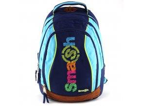 Školní batoh Smash 2v1 tyrkysový/modré zipy