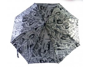 Deštník automatický Newspaper