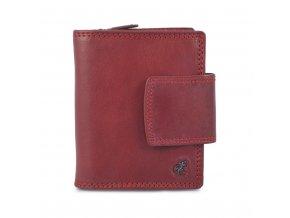 Dámská červená kožená peněženka Cosset Komodo