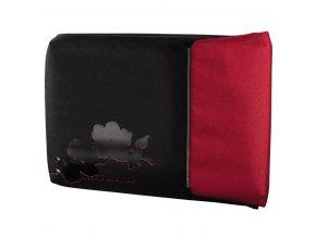 """AHA URBAN Notebook obal """"Case C"""", 40 cm (15.6""""), černá/červená"""