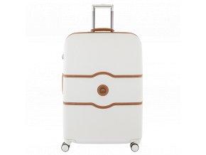 Cestovní kufr 77 cm 4 dvojitá kol. troll. Delsey Chatelet Hard+