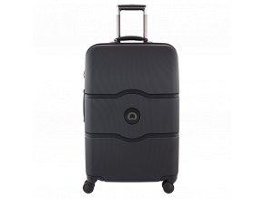 Delsey Chatelet Hard+ kufr 67 cm černý