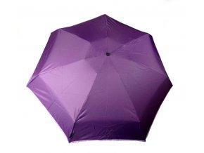 Deštník mini manuální 7 oddílů fialový