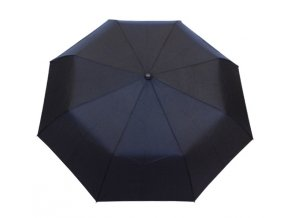 Deštník plně automatický jednobarevný černý