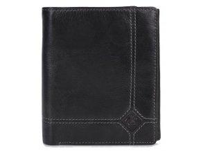 """Pánská kožená peněženka """"na výšku"""" Cosset Rombo"""