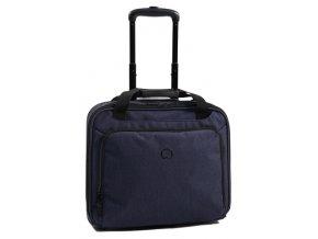 """Jednokomorový palubní kufr s PC ochranou 15,6"""" Delsey ESPLANADE"""