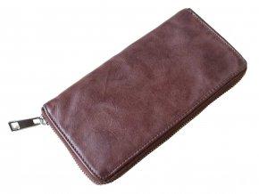 Dámská kožená peněženka penálek HJP