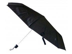 Deštník manuální černý  deštník