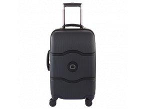 Delsey Chatelet Hard+ kabinový kufr troll. 55 cm 4 dvojitá kol.