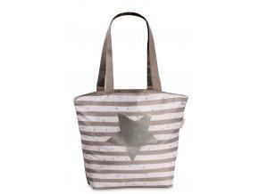 Plážová taška Fabrizio pruhovaná s hvězdou