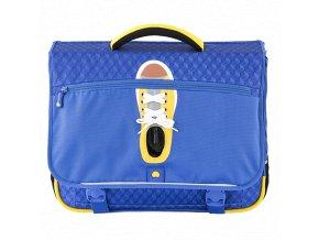 Školní taška dvoukomorová 42 cm Delsey School