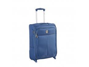 Kabinový kufr SLIM 55cm 2kol Delsey Caleo modrý