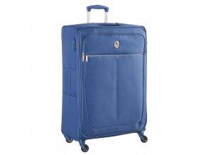 Cestovní kufr troll. 78cm 4kol Delsey Caleo modrý
