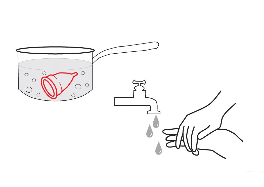 Sterilizace menstruačního kalíšku