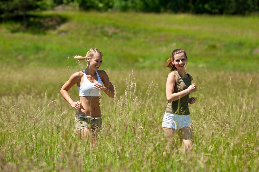 S menstruačním kalíškem je snadné sportovat i během menstruace.