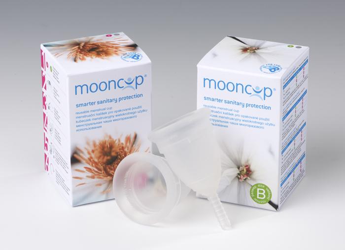 Menstruační kalíšek Mooncup A B
