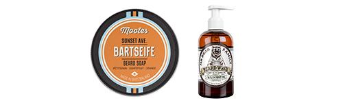 šampóny a mydlá