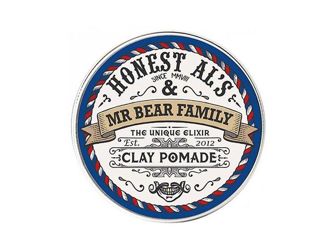 Mr Bear Family pomáda na vlasy Clay Pomade Honest Al's