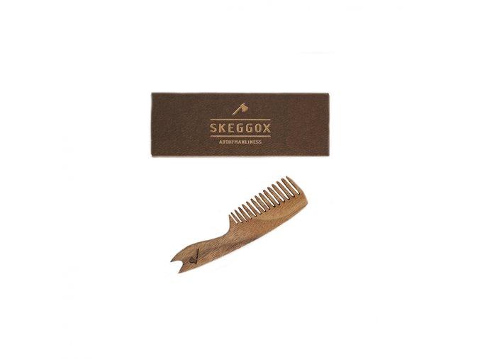 Skeggox hrebeň na bradu a fúzy