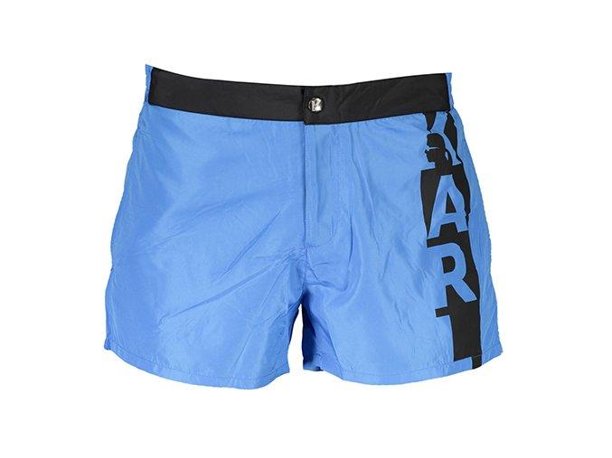 Karl Lagerfeld plavky KL19MBS02 modré