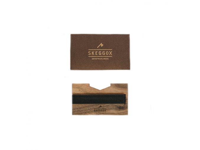 Skeggox peňaženka Wooden Wallet