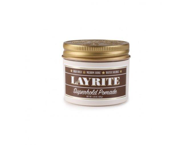 Layrite pomáda na vlasy Superhold Pomade