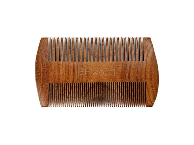 BFWood hrebeň na bradu