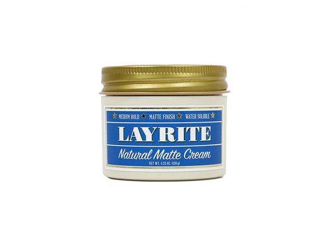 Layrite vlasový krém Natural Matte Cream