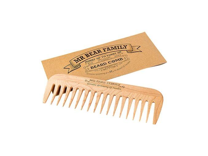 Mr Bear Family hrebeň na bradu Beard Comb