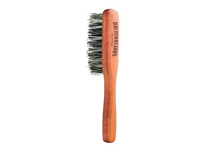 Golden Beards kefa na bradu Vegan Beard Brush