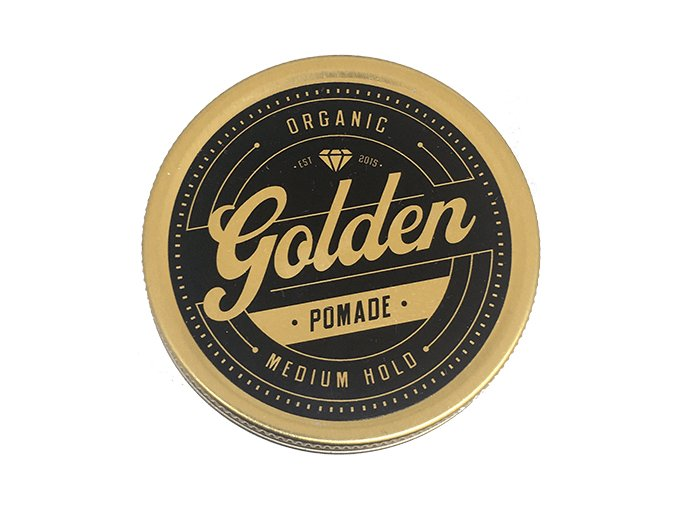 Golden Beards pomáda na vlasy Organic Golden Pomade
