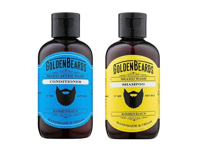 Golden Beards šampón a kondicionér na bradu