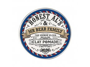 Mr Bear Family pomáda na vlasy Clay Pomade Honest Al's