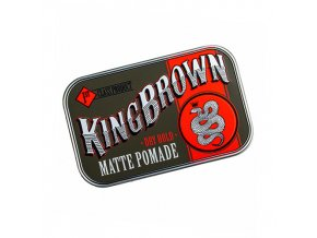 King Brown pomáda na vlasy Matte Pomade
