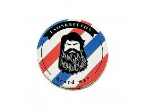 Angry Norwegian Exoskeleton vosk na bradu a fúzy Beard Wax