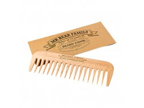 Mr Bear Family hrebeň na bradu Beard Comb