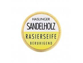 Haslinger mydlo na holenie Sandelholz Rasierseife