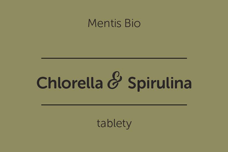Mentis Bio Chlorella Spirulina