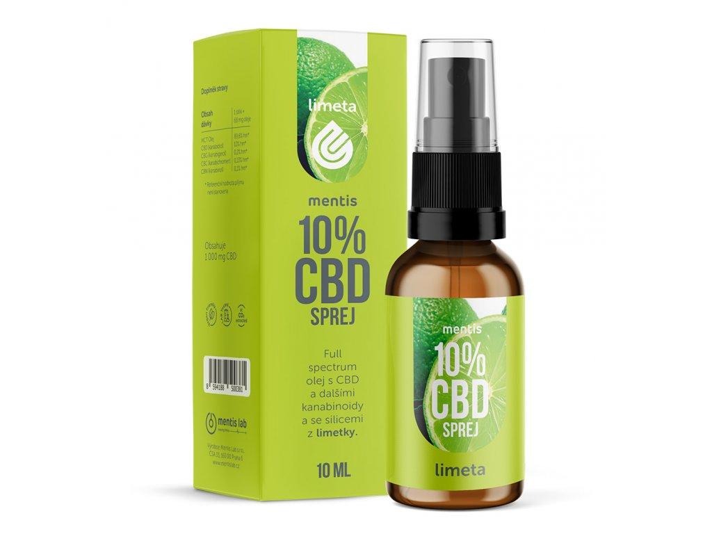 CBD oil lime 1