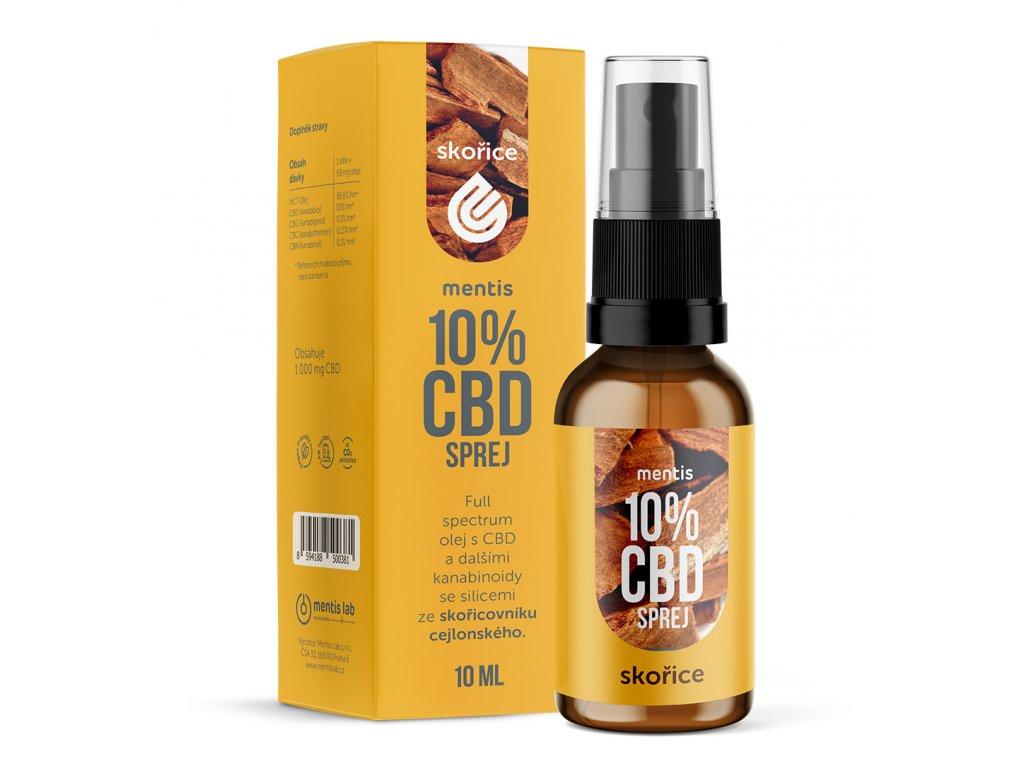CBD oil skorice 1