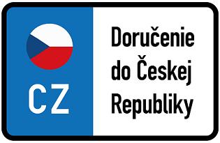Doručujeme už aj do Českej Republiky