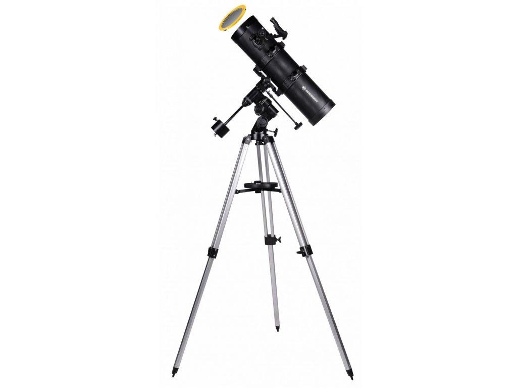 bresser spica 130 650 eq3 astro teleskop