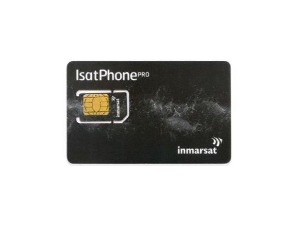 Inmarsat GSPS - predplatená SIM karta 50 jednotiek