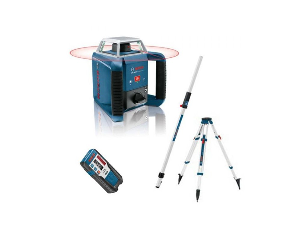 Rotačný laser Bosch GRL 400 H set